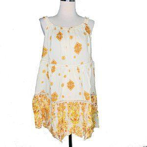 Free People Womens Small Mini Dress Talk to Me New